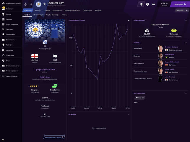 ‎Football Manager 2021 Touch Screenshot
