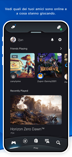 ‎PlayStation App Screenshot