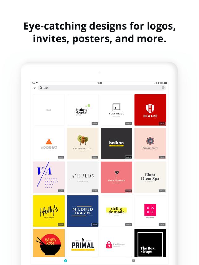 Canva: Card/Poster/Logo Maker Screenshot