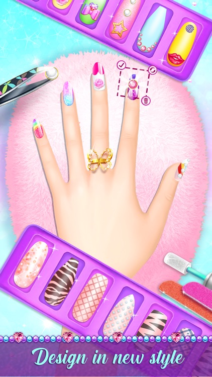 Girls Game Nails : girls, nails, Salon, Fashion, Girls, Mehreen, Irfan