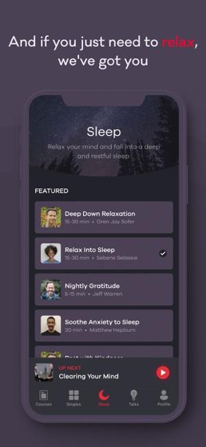Ten Percent Happier Meditation Screenshot