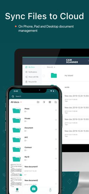 CamScanner: Docs Scanner App Screenshot