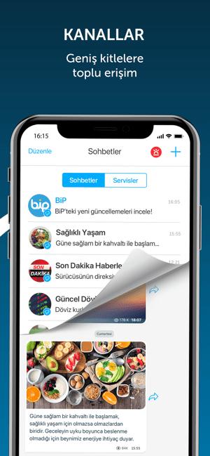 BiP - Mesajlaş, Görüntülü Ara Screenshot