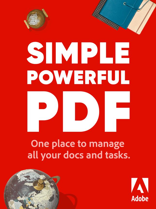 Adobe Acrobat Reader PDF Maker Screenshot