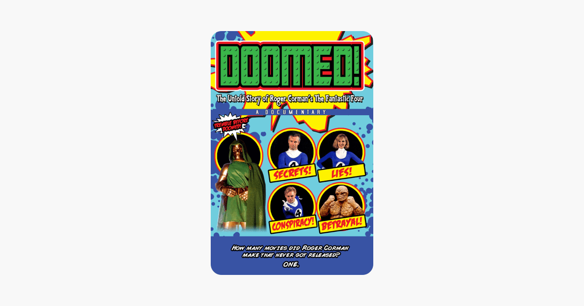 Doomed! The Untold Story of Roger Corman's the Fantastic Four on iTunes