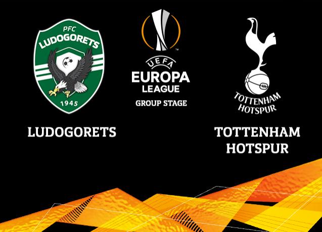 nonton Tottenham Hotspur vs Ludogorets Razgrad live streaming