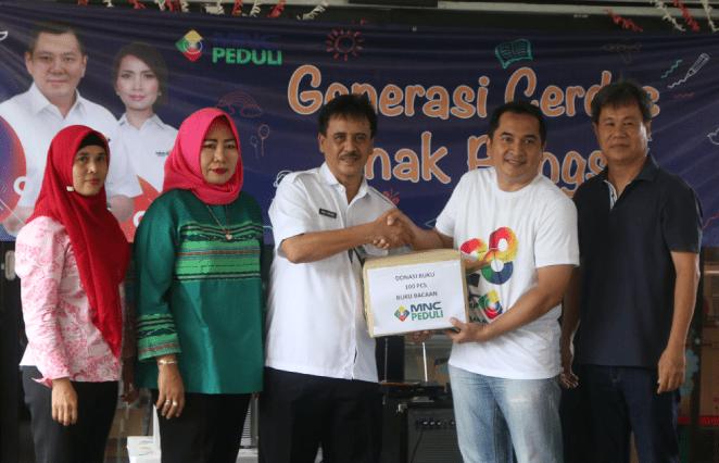 Cetak Generasi Cerdas, MNC Peduli Donasikan Buku ke RPTRA Kebon Jeruk