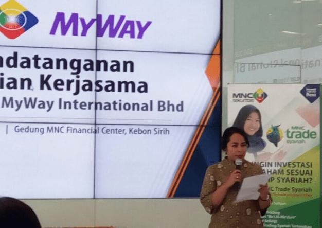Kembangkan Aplikasi Online, MNC Sekuritas Incar Pasar Saham Syariah