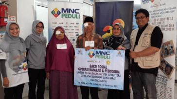 MNC Peduli Gelar Operasi Katarak Gratis di Sukabumi