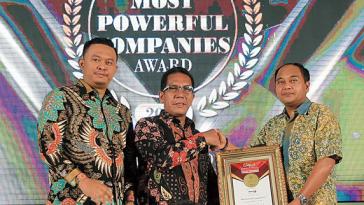 MNC Raih Penghargaan Most Powerful Company 2017