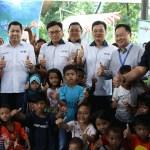 Cerdaskan Anak Bangsa, MNC Group Bagikan Ratusan Buku ke RPTRA Kebon Sirih