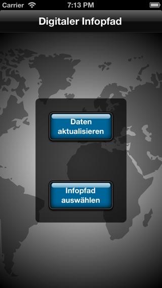 Digitaler Infopfad Screenshot