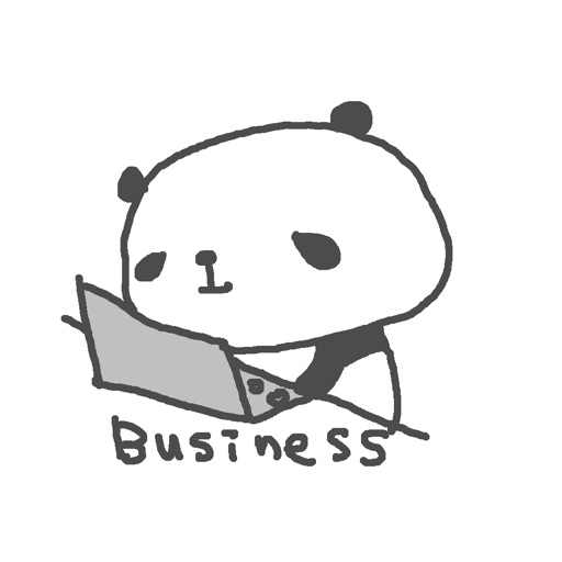 Business Panda by Aki Kondo