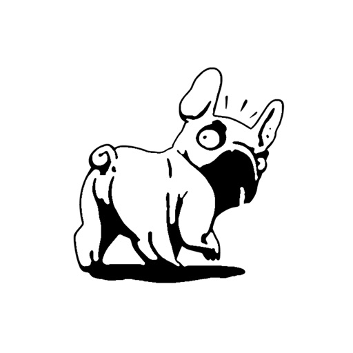 Bulldog Emoji & Sticker by SalahEddine Lahrar