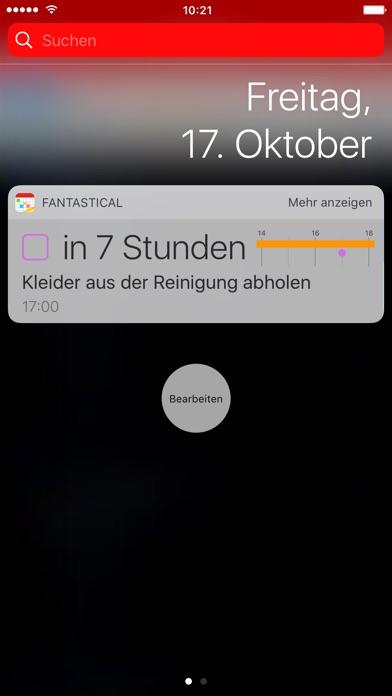Fantastical 2 für iPhone - Kalendar + Erinnerungen Screenshot