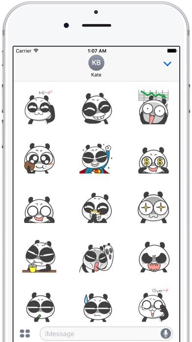 Cute Panda Emoji 通过 El Mehdi LAIDOUNI