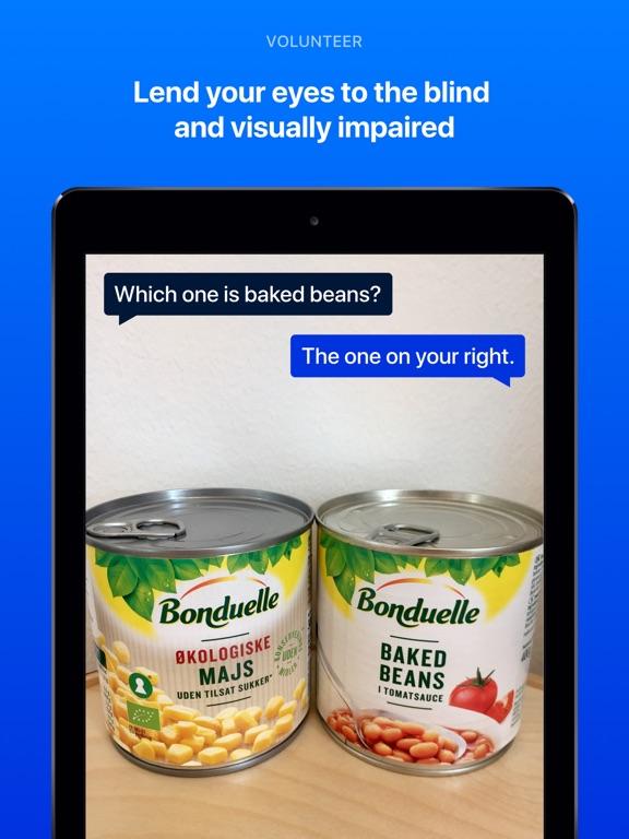 Be My Eyes – Helping the blind Screenshot