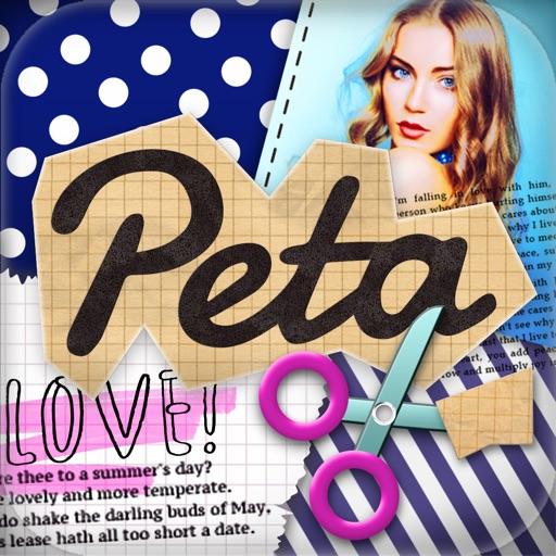 Petapic-かわいい写真組み合わせ!無料のおしゃれテンプレートでかんたん画像加工コラージュ編集