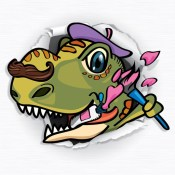 Paint & Play Dinosaur, Coloring Book For Kids