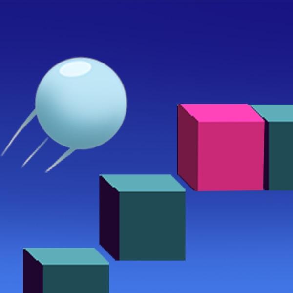 滚动的太空晶体球