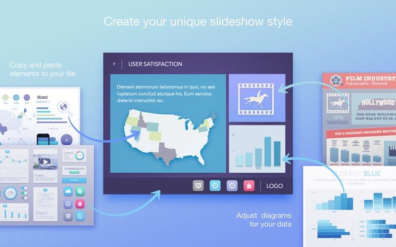 Infographics - PPT Templates for Mac 1.2.3 破解版 - PPT模板