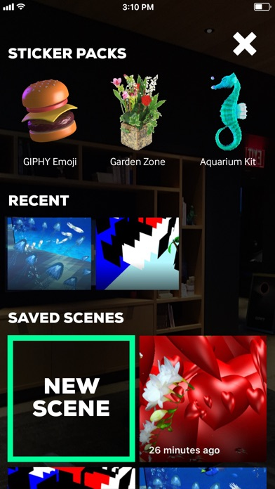 GIPHY World: AR GIFs+Stickers Screenshot