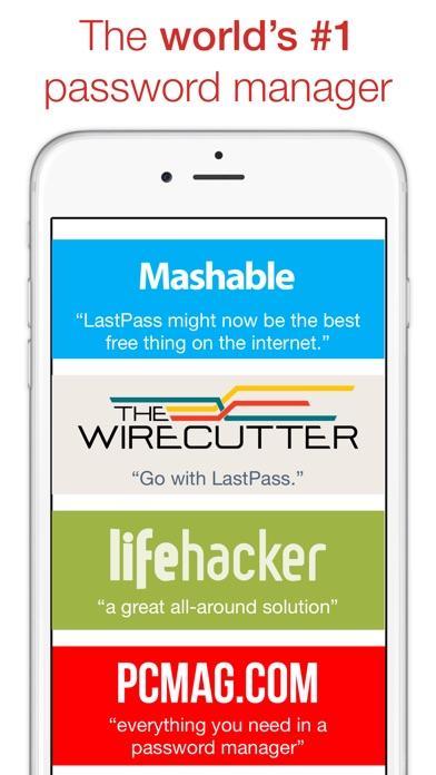 LastPass Password Manager Screenshot
