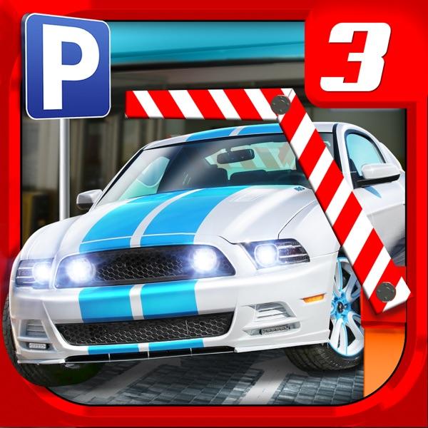 Multi Level 3 Car Parking Game Real Driving Test Run Racing