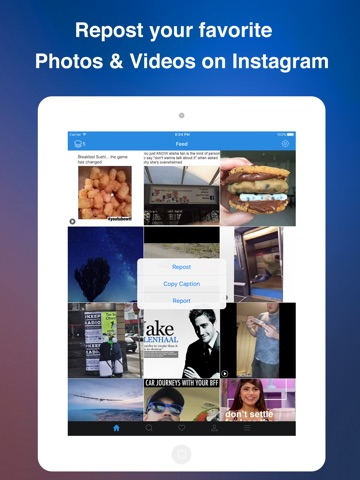 Instagrab Repost for Instagram - Repost Photos and Videos on Instagram Screenshot