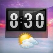 Flip Clock - Beautiful Weather Clock for iPad