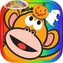 Five Little Monkeys Halloween HD
