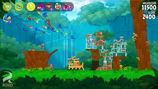Angry Birds Rio Screenshot