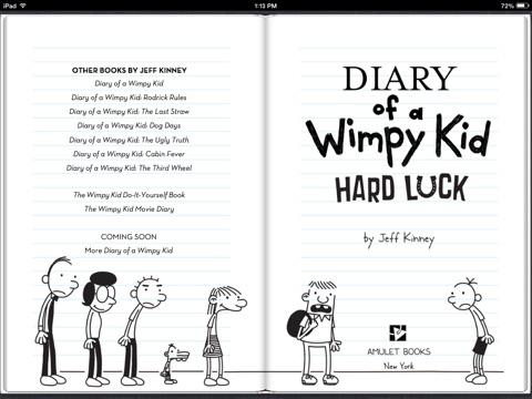 Hard Luck by Jeff Kinney on iBooks