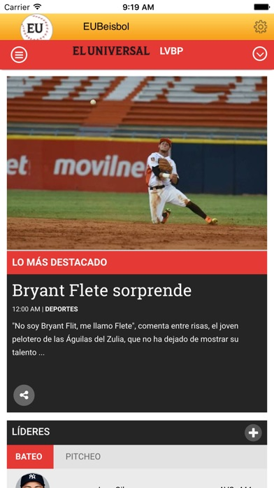 EUBeisbol ® Screenshot