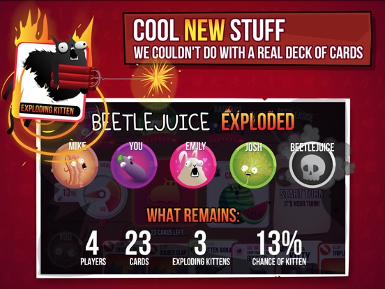 Exploding Kittens® - The Official Game Screenshot