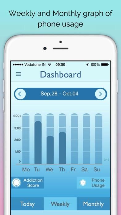 BreakFree - Track Phone Addiction Screenshot
