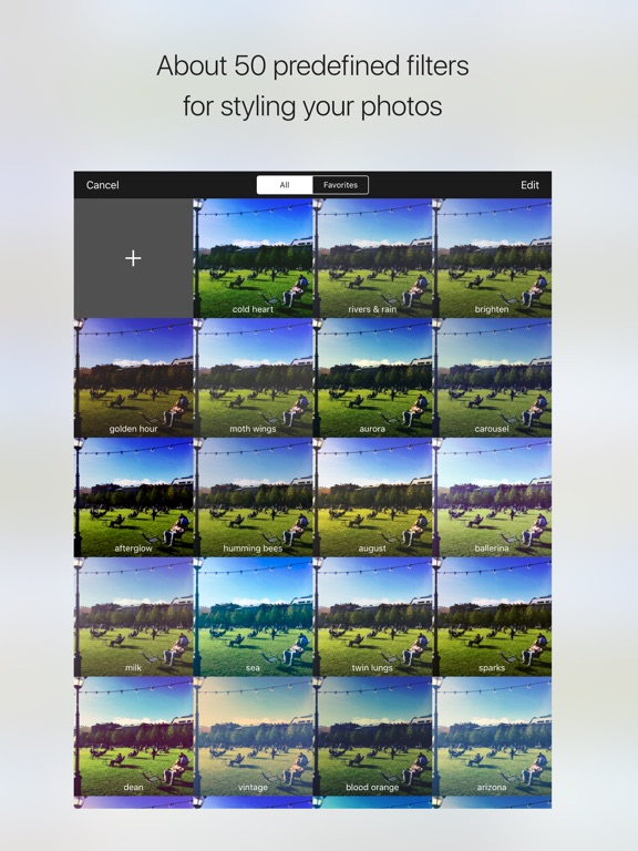 Charm - photo filters creator Screenshot