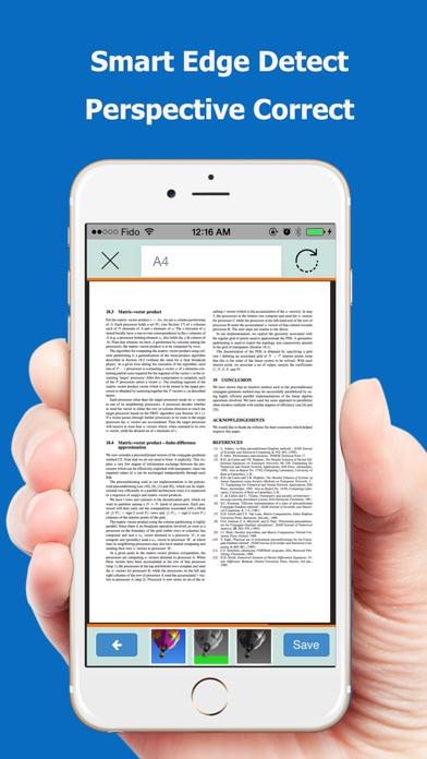 Screenshot do app TopScanner : PDF Scanner App