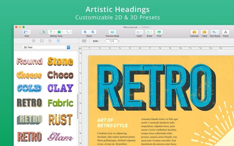 Swift Publisher 5 for Mac 5.5.11 注册版 - 强大的平面设计与印刷模板工具