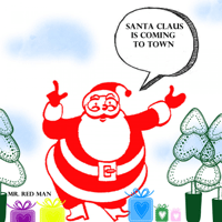 Santa Claus Is Coming to Town (Instrumental) Mr. Red Man MP3