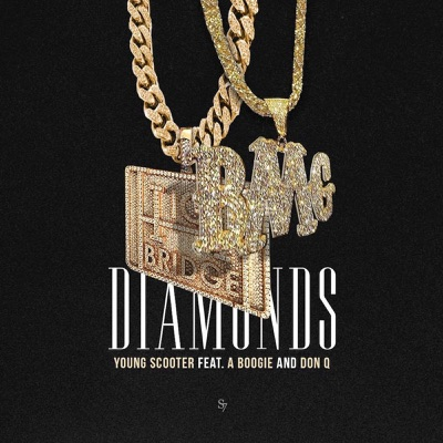 Diamonds (feat. Don Q & A Boogie wit da Hoodie) - Single - Young Scooter mp3 download