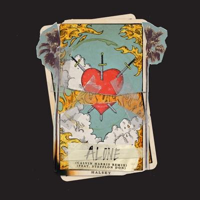 Alone (Calvin Harris Remix) - Halsey Feat. Stefflon Don mp3 download