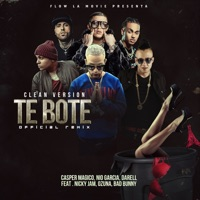 Te Boté (Clean Version) [feat. Darell, Nicky Jam & Ozuna] - Single - Casper Mágico, Nio García & Bad Bunny mp3 download