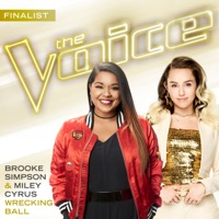 Wrecking Ball (The Voice Performance) - Single - Brooke Simpson & Miley Cyrus mp3 download