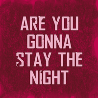 Are You Gonna Stay the Night By Chance