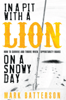 In a Pit with a Lion on a Snowy Day - Mark Batterson