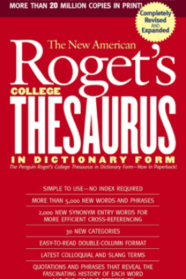 New American Roget's College Thesaurus in Dictionary Form (Revised & Expanded) - Philip D. Morehead