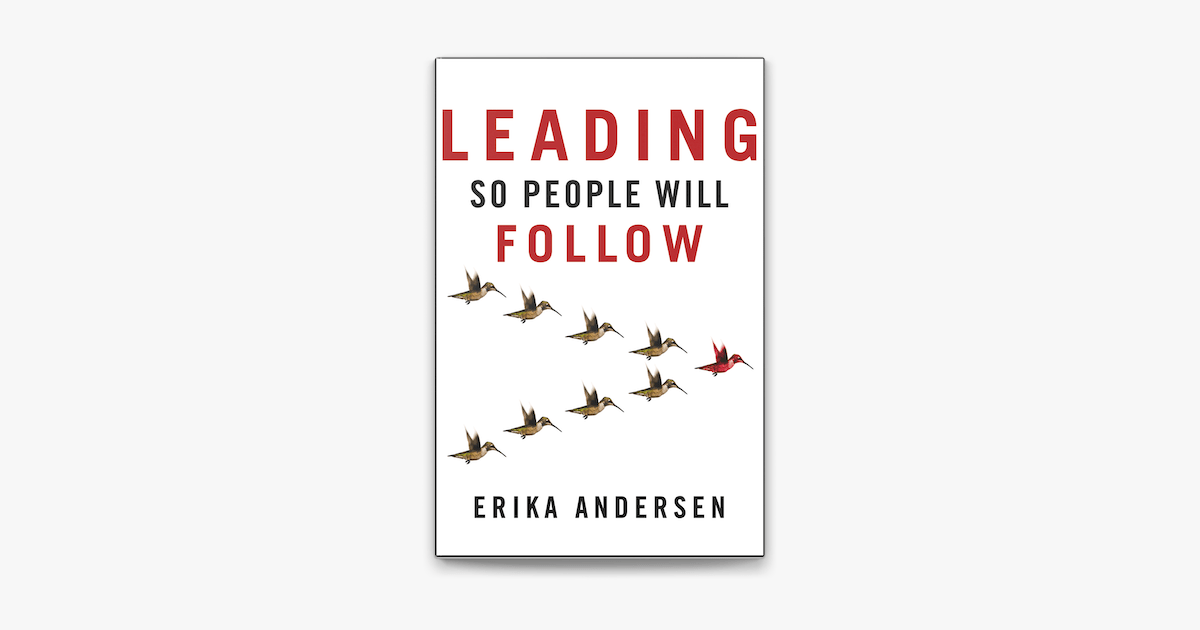 Leading So People Will Follow on Apple Books