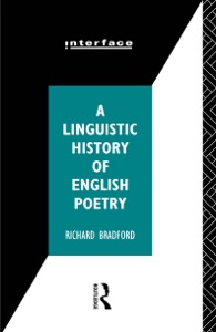 A Linguistic History of English Poetry - Richard Bradford pdf download