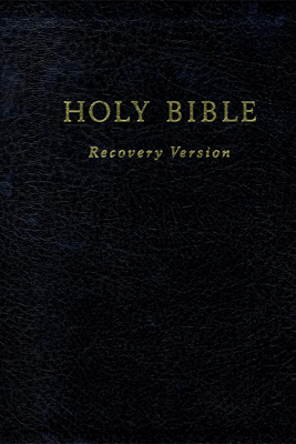 Holy Bible Recovery Version - Living Stream Ministry